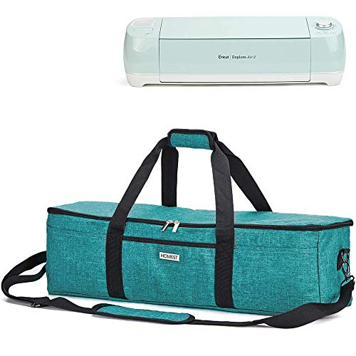 - HOMEST Lightweight Carrying Case Compatible with Cricut Explore Air 2, Cricut Maker, Cricut Explore Air, Green (Patent Pending)