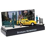 Motormax 1:64 Die-Cast Ford - American Graffiti Metropolis Diorama