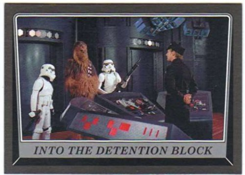 2016 Topps Star Wars Rogue One Mission Briefing Death Star Black #38 Into the Detention Block