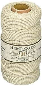 Hemptique–Bobina de cable 48lb 205'-natural