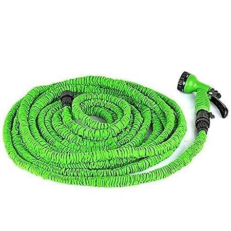 Expandable Flexible Garden Magic Water Hose Pipe Spray Gun Heavy Duty 75-200ft