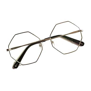 3ec54f83dc55d Juleya Lunettes de vue Polygone pour des hommes femmes - Mode Montures de  lunettes 1229YJJ12