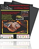 Kitchen Floor Planner Grill Mat Best Professional Barbecue BBQ Grilling Mats Two 2 Non Stick Grate Liners Chefs Kitchen