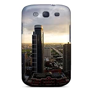 Excellent Design Sun Rise Over City Case Cover For Galaxy S3