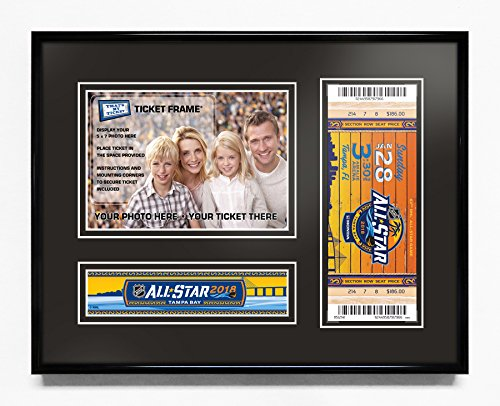 2018 NHL All-Star Game 5x7 Photo Ticket Frame - Tampa Bay Lightning (2018 All Star Game Tickets)