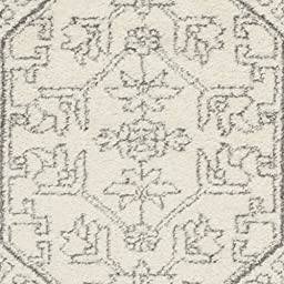 Safavieh Adirondack Collection ADR108B Ivory and Silver Oriental Vintage Area Rug (5\'1\
