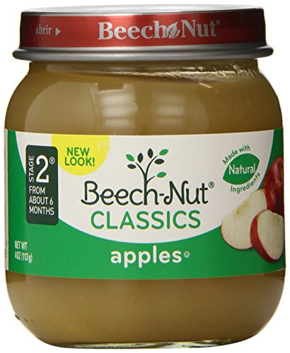 Beech-Nut Classics, Apples, 4 Ounce (Pack of 10)