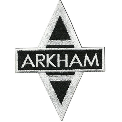 Batman - Arkham Asylum Uniform EMBROIDERED PATCH Badge Sew On 3.5""