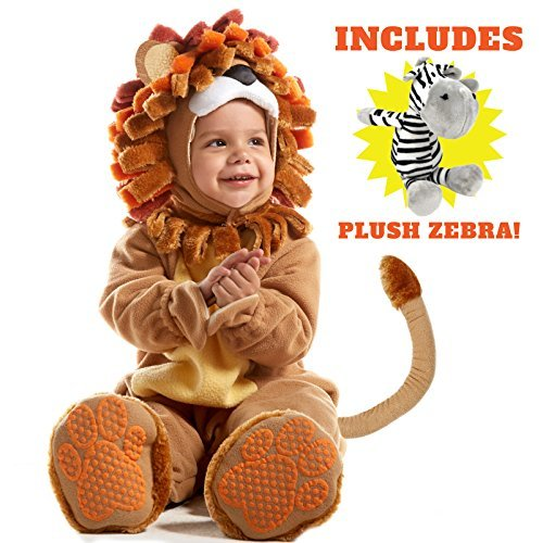 12 Month Baby Halloween Costume (Spooktacular Creations Deluxe Baby Lion Costume Set (12-18)