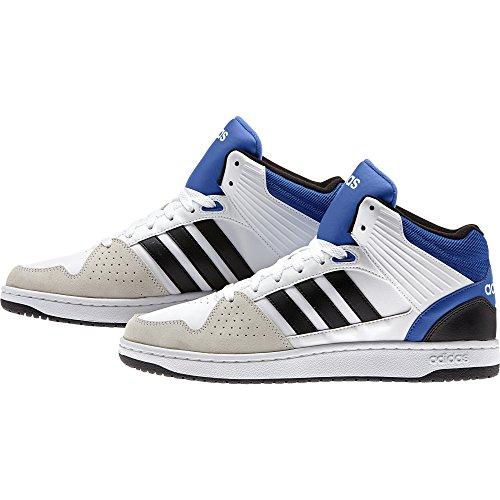 adidas Herren Hoops Jumpshot Mid Turnschuhe Varios colores (Blanco (Ftwbla / Negbas / Azul))