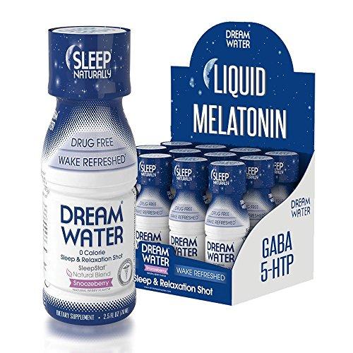 Dream Water Natural MELATONIN Snoozeberry product image