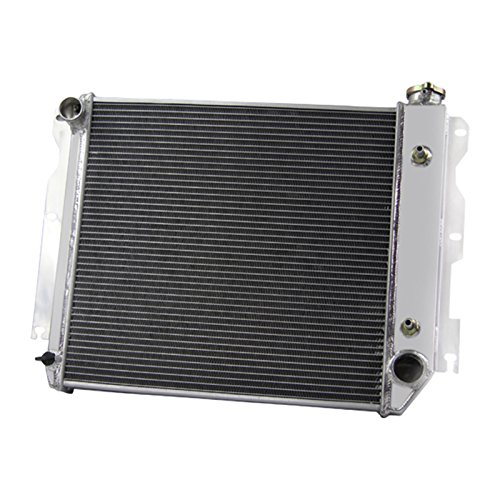 "Primecooling ""3 Row Core"" Full Aluminum Radiator for Jeep Wrangler TJ YJ w/ Chevy V8 LS Engine Conversion 1987-95 ,1997-02"
