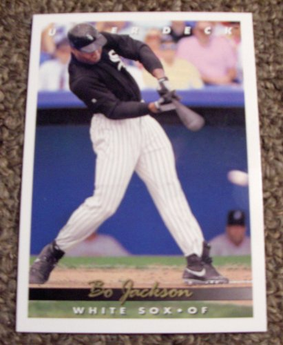 1993 Upper Deck Bo Jackson 775 Mlb Baseball Card At