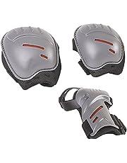 HUDORA Protector set kinderen, biomechanisch, mt. S of M (ca. 3-11 jaar) - beschermende uitrusting inliner skater, rolschaatsen