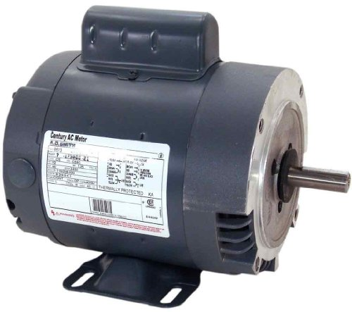 0.75 Hp 56c Frame (AO Smith B652 56C Frame 3/4 HP 3450 RPM 115 208-230-Volt 10.2-Amp Ball Bearing Cap Start C-Face)
