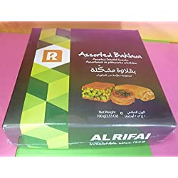 ALRIFAI ASSORTED BAKLAVA 1 PACK 100g ORIENTAL SWEETS,IRRESISTIBLE,LEBANON TREATS,DELICIOUS