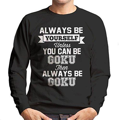 7 Z Dragon Yourself You Black Ball Men's Sweatshirt Always Be Goku Can Cloud City Unless 5nFqxR
