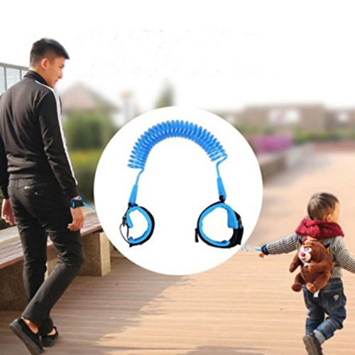 Amazon.com : Pulsera Anti Pérdida Para Bebés Y Niños - Seguridad Infantil - Brazalete De Color Azul : Baby