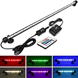buy Mingdak LED Aquarium Light for Fish Tanks,30 LEDs,22.5-Inch,RGB Color now, new 2019-2018 bestseller, review and Photo, best price $29.98