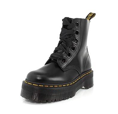 large discount sale uk big sale Amazon.com | Dr. Martens Women's Molly Quad Retro | Shoes
