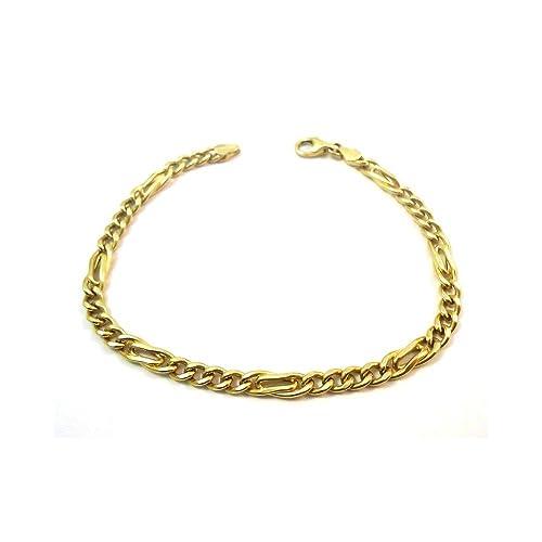 Pulsera de cadena de oro amarillo de 18kthttps://amzn.to/2KJhmP8