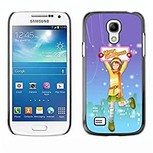 YOYO Slim PC / Aluminium Case Cover Armor Shell Portection //Christmas Holiday Merry Christmas 1162 //Samsung Galaxy S4 Mini by icecream design