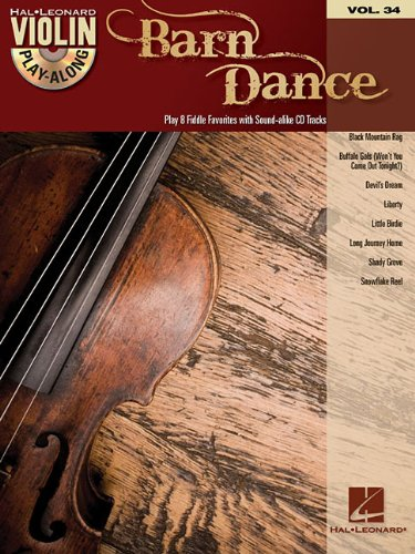 (Barn Dance: Violin Play-Along Volume 34 (Hal Leonard Violin Play-along))