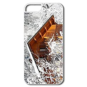 New Design Case Particular Winter Chalet For IPhone 5/5s