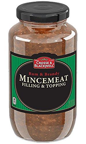 Crosse and Blackwell Mincemeat Rum Brandy 29 Ounce Jar (Pack of 2) by Crosse & Blackwell
