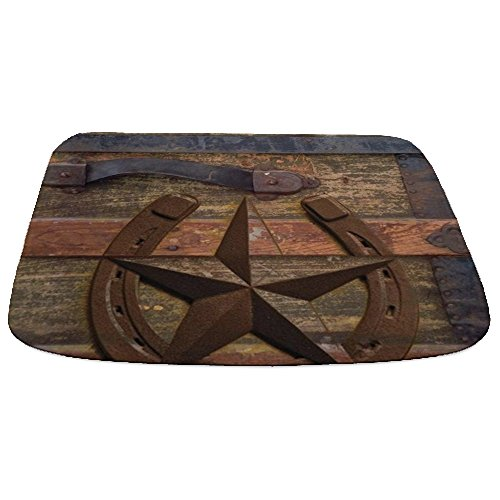 CafePress Western Horseshoe Decorative Bathmat