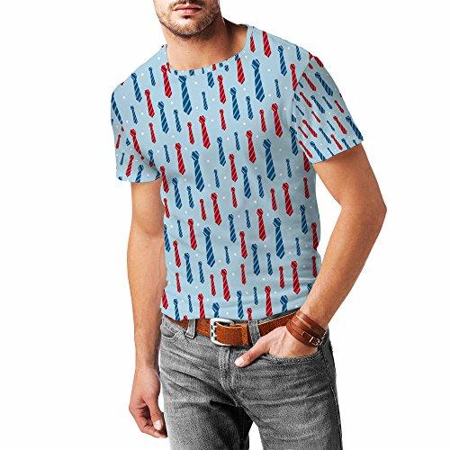 Neck Ties Mens Sport Mesh T-Shirt Herren XS - 3XL