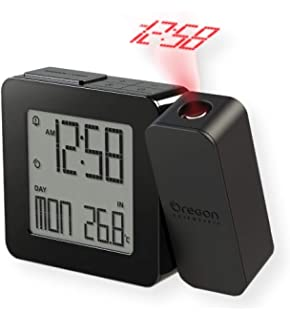 Oregon Scientific RM338PA BK Model RM338 PROJI Projection Atomic Alarm  Clock d39390577b3eb