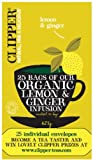 Clipper Tea- Herbal Infusion – Organic Lemon & Ginger Enveloped Infusion – 25 Bags Review