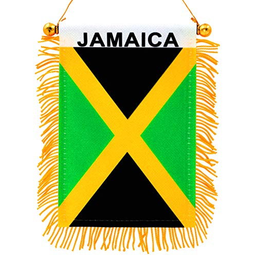 Best jamaican flag rear view mirror for 2019