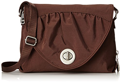 Baggallini Nassau Crossbody Travel Bag, Mocha, One Size
