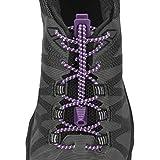 Nathan 1171 Run Laces Reflective, Purple, Purple Magic