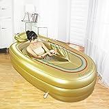 Sunhai& Inflatable Bathtub Thick Adult Children Folding Bath Clip Cotton Insulation Antifreeze