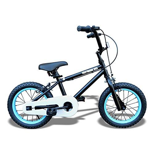 Californian カリフォルニアンキッズバイク フィルダー(ブラック×ブルー) /子供用自転車/BMXスタイル/アメリカン雑貨/ B018HL4KMW