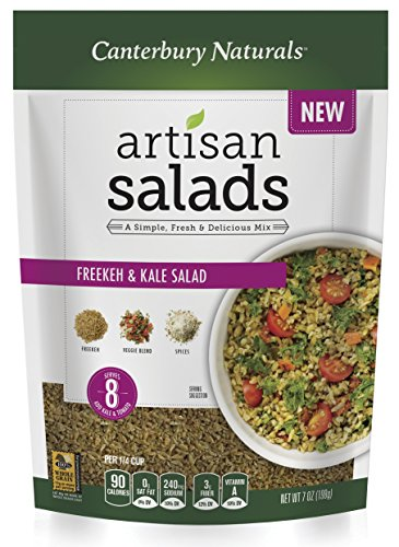 Canterbury Naturals Freekeh and Kale Salad, 7 Ounce