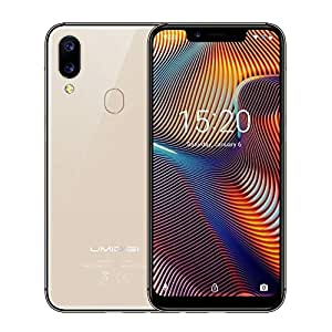 """UMIDIGI A3 Pro GSM Unlocked Cell Phones 5.7"""" inch 19:9 Full-Screen Display 12MP + 5MP Dual Camera Global Band Dual 4G LTE 2 + 1 Card Slots 3GB+32GB(Expandable Storage to 256G) Android 8.1(Rose Gold)"""