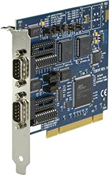 16550 UART Black Box Network 2-Port Black Box RS-232//422//485 PCI Card 2 x 9-pin DB-9 Male RS-232//422//485 Serial PCI IC133C-R2