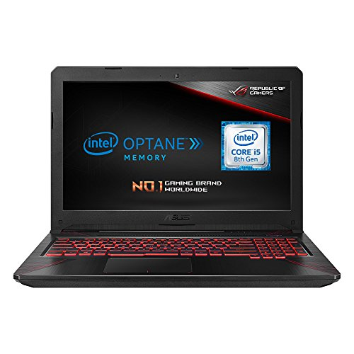ASUS FX504GD-E4603T 15.6 Inch Full HD Wide-View Laptop (Black) - (Intel...