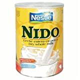 Nestle Nido Instant Milk Powder Fortified, 12.7-Ounce Tins (Pack of 4)