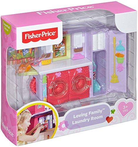 Fisher price loving family laundry room playset import it all for Fisher price loving family living room