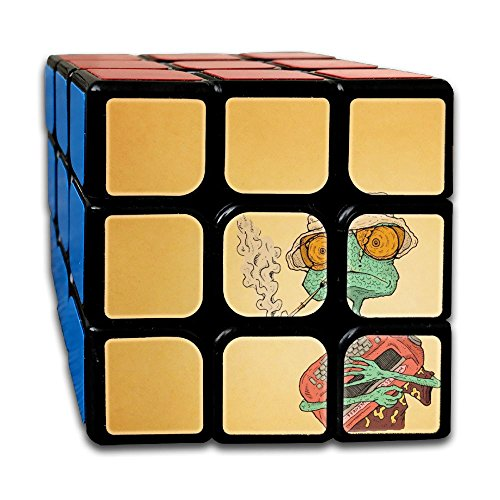 Cartoon Chameleon 333 Super-durable Cube,Easy Turning And Smooth Play, Developing Intelligence