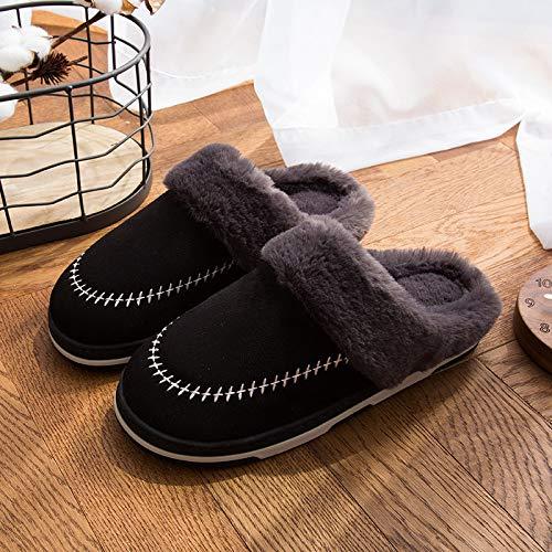 Gli Coperta Hong 44 Black Trascinare Di grey1 Coppia Donne 45 Pantofole Uomini Jia Cotone Caldo Nuove Trascinare Autunno 45 Inverno 44 E Casa 6URUaPdxq