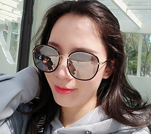 Completo Sol Negro de de Sol de de Mujer Sol Gafas Color de Plata YANJING Negro Plata Polvo UV polarizadas de Gafas Mujer de de Sol Gafas Gafas Marco ZYXCC vwqYxfT