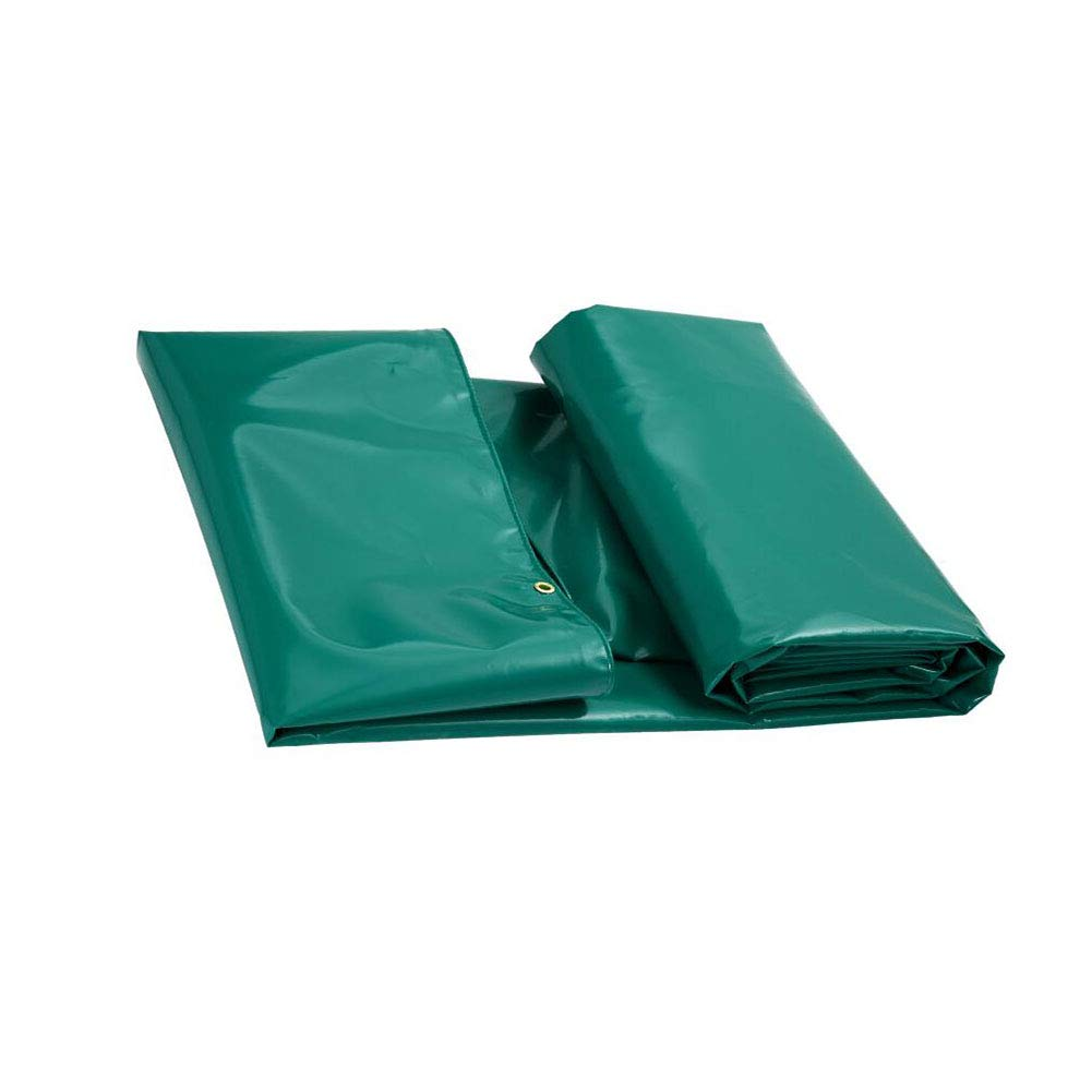 CJC ターポリン 650g/m² PVC 接地 シート カバー キャンプ 釣り 園芸 ペット (色 : Green, サイズ さいず : 4x3m) 4x3m Green B07H72PTD7