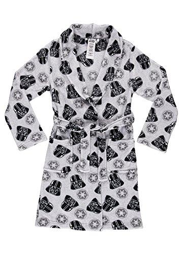 Star Wars Darth Vader Boys Fleece Sleep Robe | Soft & Cozy Kids Bathrobe - L -