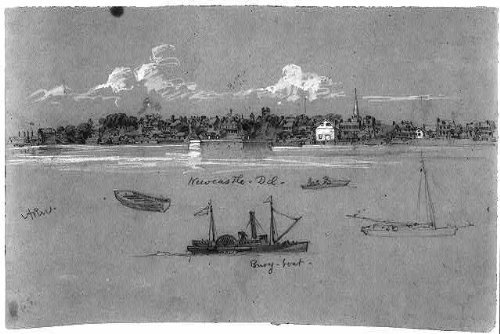 - Infinite Photographs Photo: Newcastle,Delaware,Ship,Alfred Rudolph Waud,Naval